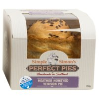 Simple Simon's perfect pies venison