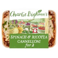 Charlie Bigham's spinach & ricotta cannelloni