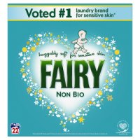 Fairy Non Bio  Washing Powder Laundry Detergent 22 washes