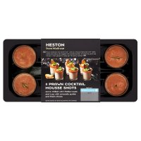 Heston from Waitrose 8 prawn cocktail mousse shots