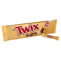 Twix biscuit fingers, 16 pack