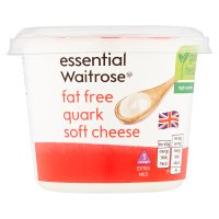essential Waitrose Fat Free Quark Soft Cheese