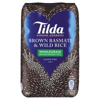 Tilda wholegrain basmati & wild rice