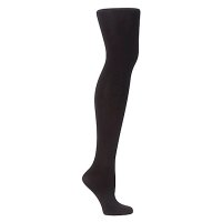John Lewis Soft & Smooth Black Tights - 60 Denier - Extra Large