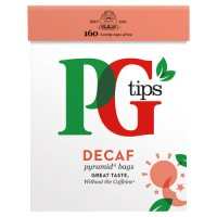 PG tips decaf 160s Pyramid Teabags