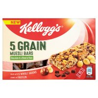 Kellogg's 5 Grain Muesli Bars Chocolate & Nuts
