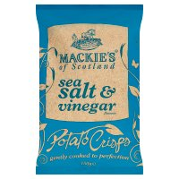 Mackie's potato crisps sea salt & vinegar