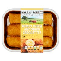Mash Direct 3 Potato, Cheese & Onion Croquettes
