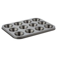 Waitrose Cooking Non-Stick 12 Hole Mini Muffin Pan