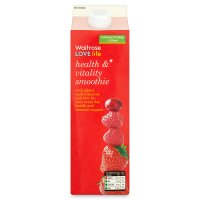 Waitrose LOVE life health & vitality smoothie