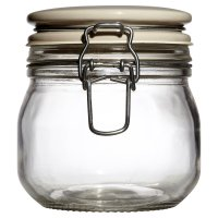 Waitrose Cooking Sealed Jar Ceramic Lid