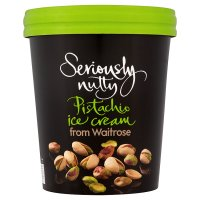 Waitrose Seriously pistachio ice cream