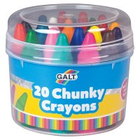 Galt chunky crayons, pack of 24
