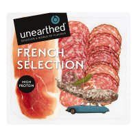 Unearthed French selection platter, 15 slices