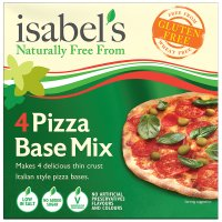 Isabels pizza base mix