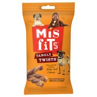 Misfits 7 beef & cheese tangly twists