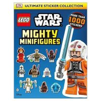 Star Wars Mighty Minifigures Sticker Book