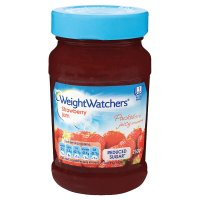 Weight Watchers strawberry jam