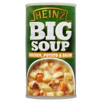 Heinz chicken potato & bacon big soup