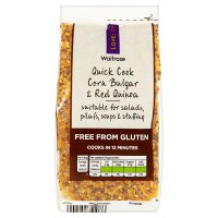 Waitrose LoveLife Corn Bulgar & Quinoa