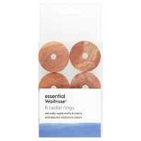 essential Waitrose FSC cedar rings, pack of 6