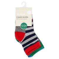 Waitrose boys socks, pack of 5