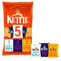 Kettle Chips Variety Pack 5 x 30g