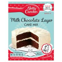 Betty Crocker milk chocolate layer cake mix