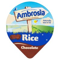 Ambrosia chocolate rice