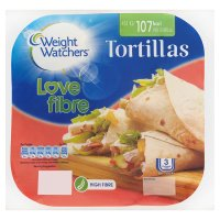 Weight Watchers tortillas