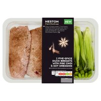 Heston from Waitrose 2 five-spice duck breasts & pak choi