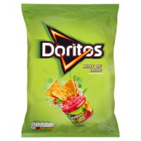 Doritos hint of lime sharing tortilla crisps