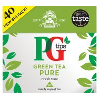 PG Tips Green Tea Pure 40s