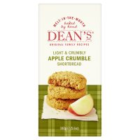 Dean's shortbread apple crumble