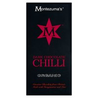 Montezuma's organic dark chocolate & chilli