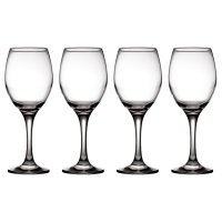 essential Waitrose large white wine glasses, pack of 4