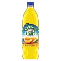 Robinsons Orange & Peach No Added Sugar