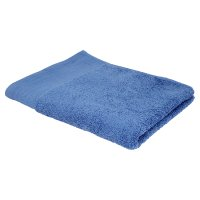 essential Waitrose mid blue hand towel