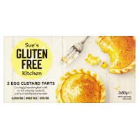 The Gluten Free Kitchen 2 Egg Custard Tarts