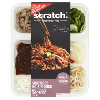 Scratch Shredded Hoisin Duck with Noodles