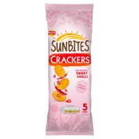 Sunbites crackers sunripened sweet chilli
