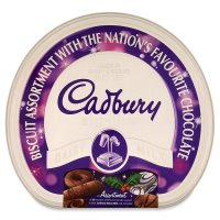 Cadbury Dairy Milk biscuit assortment