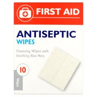 First Aid Antiseptic Wipes