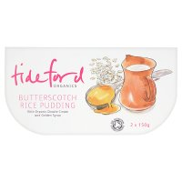 Tideford Butterscotch Organic Rice Pudding