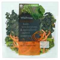 Waitrose Kale, Tenderstem & Carrot Steamer