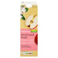 Waitrose Pink Lady apple juice