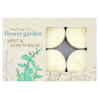 Waitrose Tealights Mint & Lemon Balm