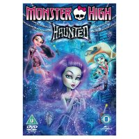 DVD Monster High Haunted