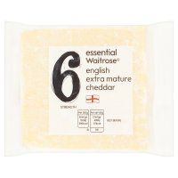 Essential Waitrose english cheddar (extra mature)