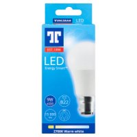 GE LED energy smart 810 lumen round 11W B22 BC